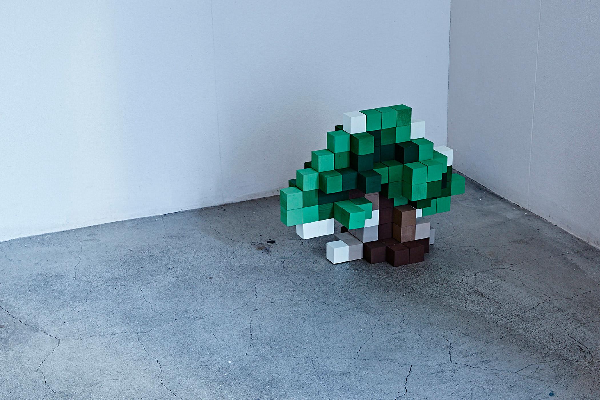 木住野彰悟展 色の立方体